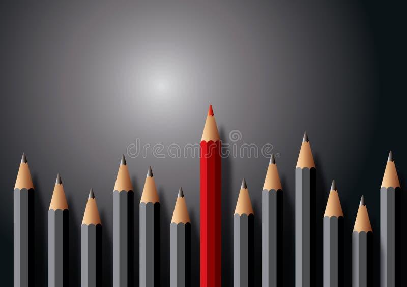Pencils Illustration Royalty Free Stock Photos