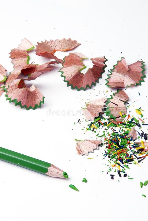 pencils sharp royaltyfri fotografi