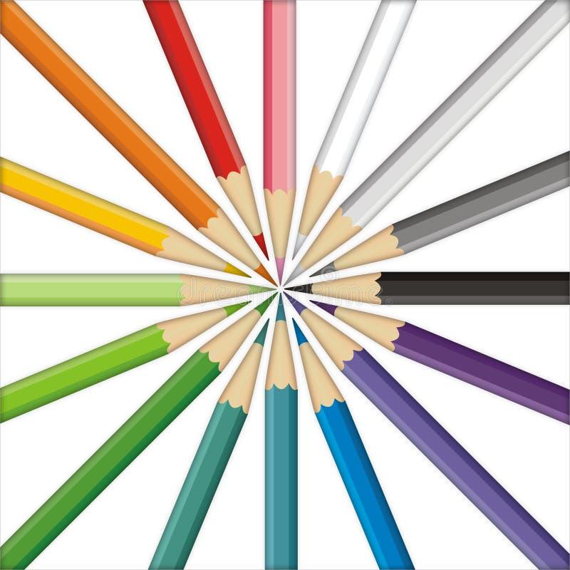 Pencils uppsätta som mål