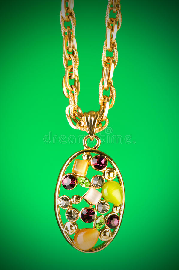 Download Pendant Against  Gradient Background Stock Image - Image: 13107853