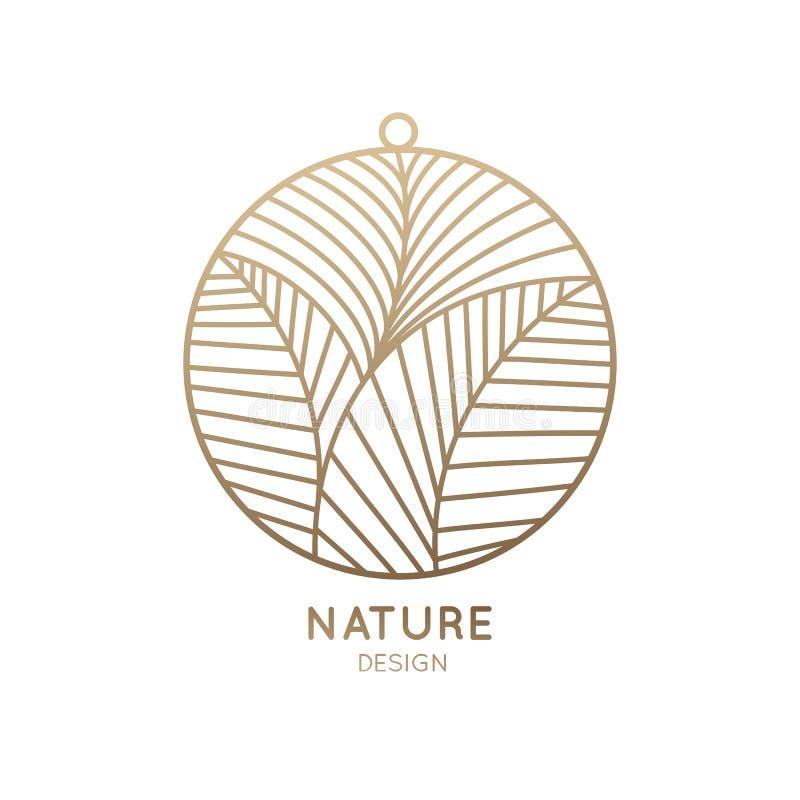Pendant logo vector illustration