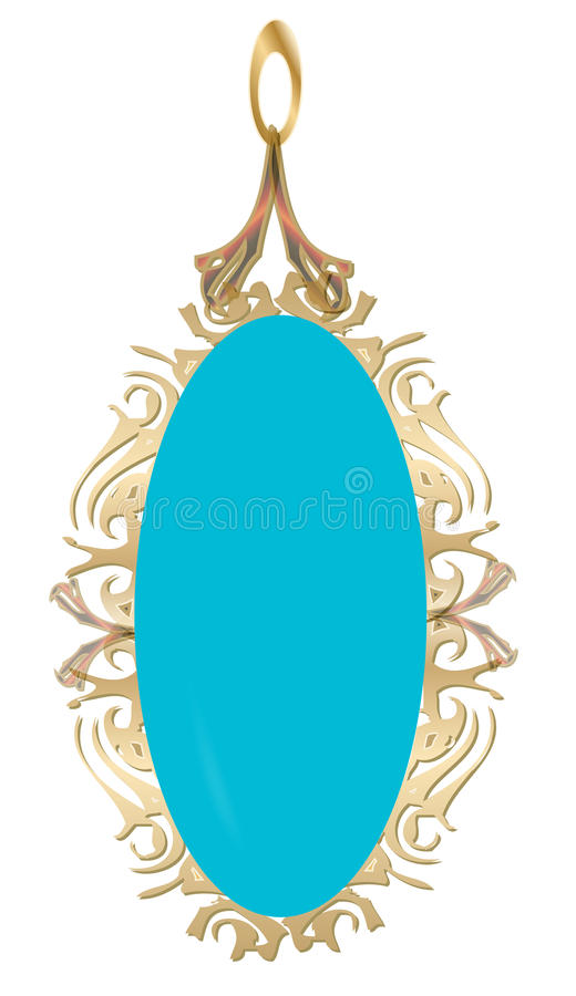 Download Pendent stock illustration. Image of function, wear, beautiful - 27396740