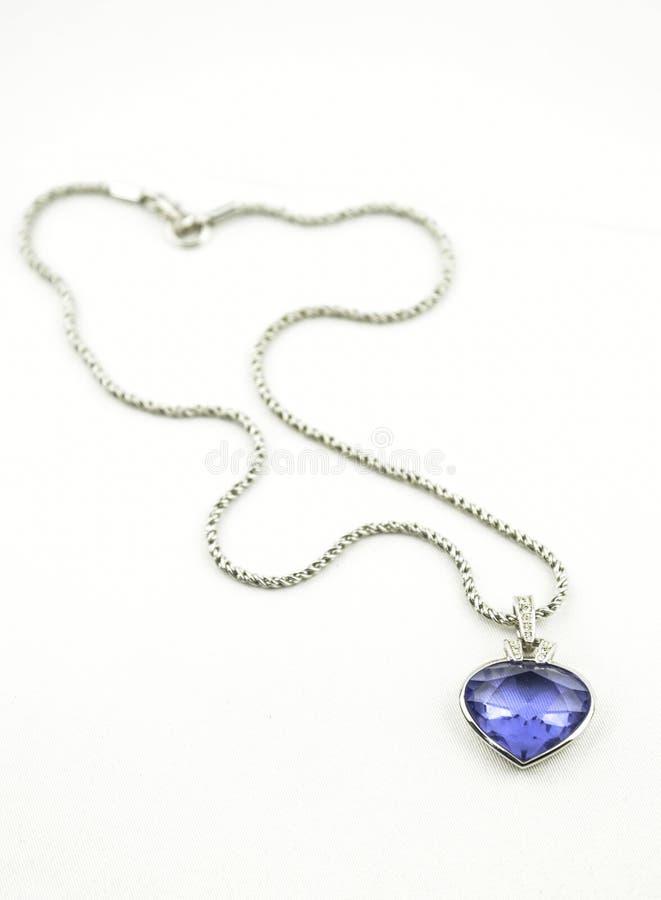 pendente azul bonito fotografia de stock royalty free