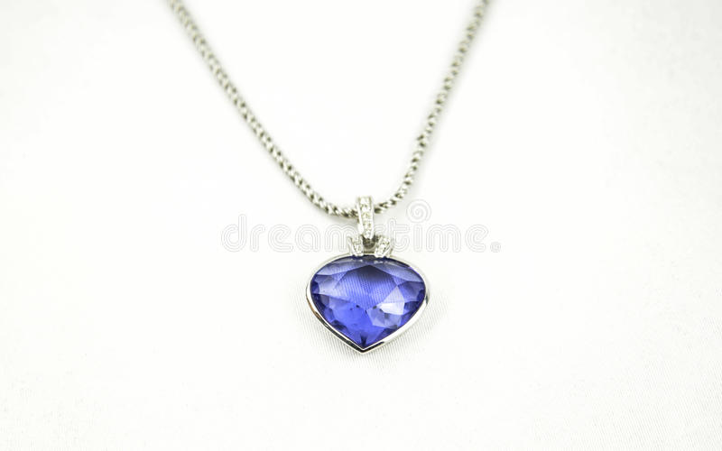 pendente azul bonito foto de stock royalty free