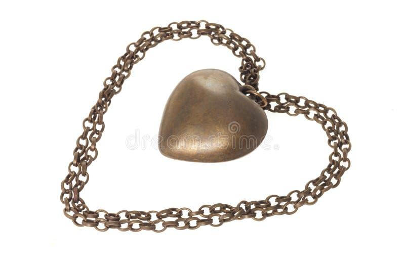 Download Pendente Do Coração Do Amor Imagem de Stock - Imagem de afeição, isolado: 12807575