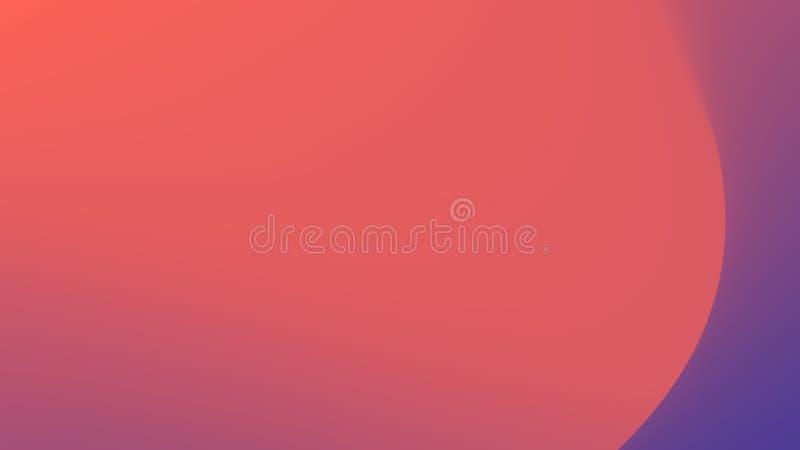 Pendenza astratta - i colori di 2018 al colore di vivere di corallo - da colore ultravioletto dell'anno 2019 royalty illustrazione gratis