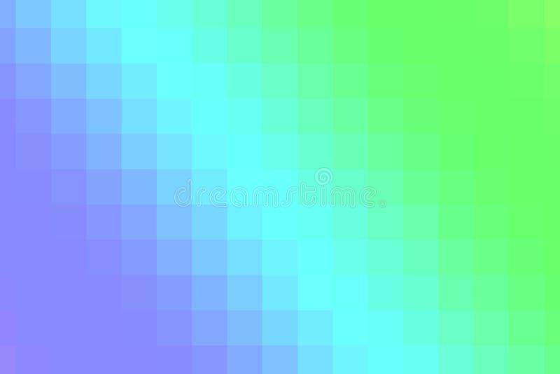 Pendenza blu e rosa dei pixel illustrazione vettoriale