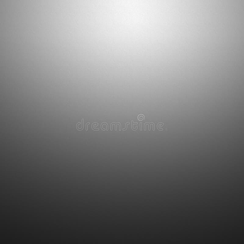 Pendenza grigio scuro circolare vuota con il ligh solido nero di scenetta illustrazione vettoriale