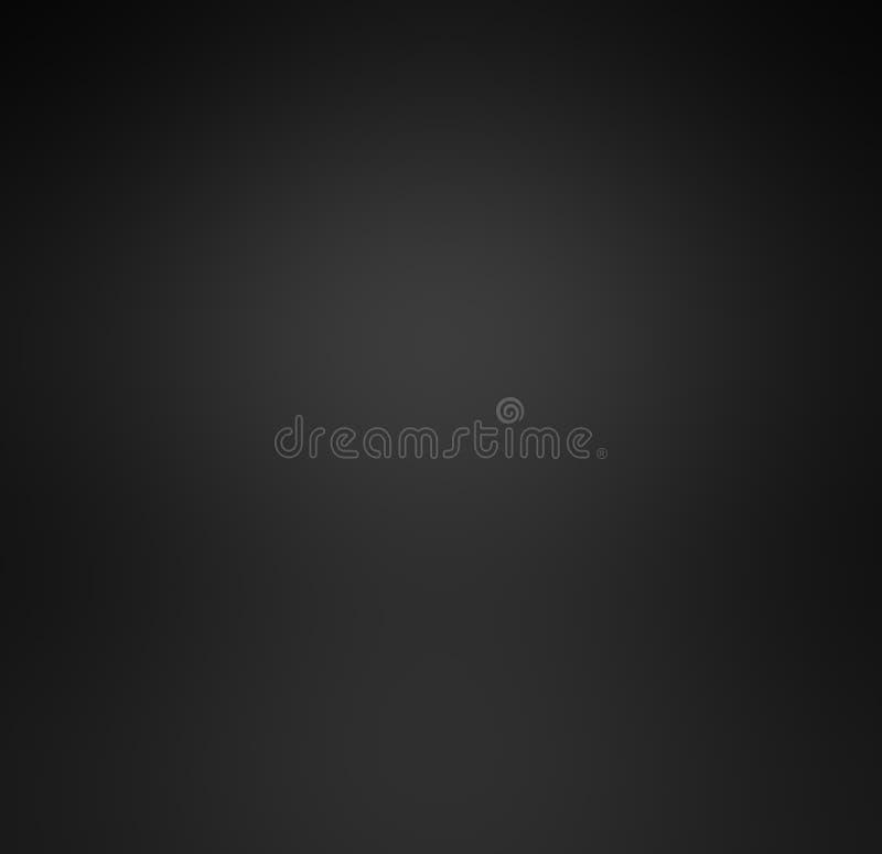 Pendenza nera di lusso astratta con il backgr di scenetta del nero del confine illustrazione di stock