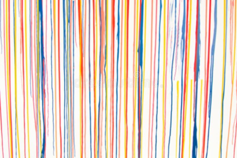 Pendenza variopinta luminosa dell'arcobaleno del fondo di moto astratto della sfuocatura multicolore immagini stock libere da diritti