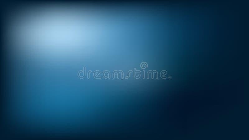 Pendiente abstracta en fondo azul Pendiente del color del vector ilustración del vector
