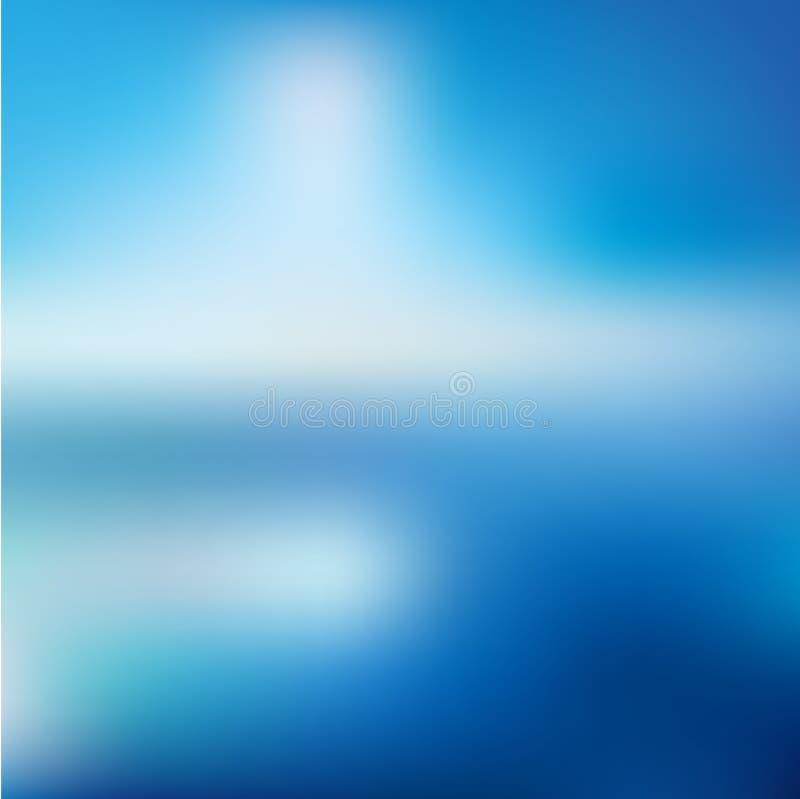 Pendiente abstracta negra azul marino azul de la falta de definición del fondo ilustración del vector