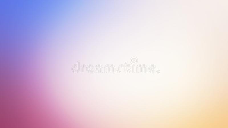 Pendiente del color en colores pastel, fondo suave del color stock de ilustración