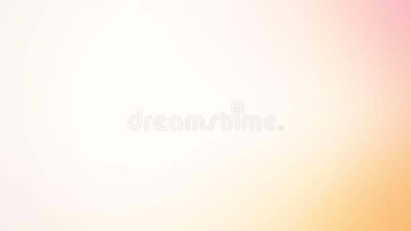Pendiente del color en colores pastel, fondo suave del color libre illustration