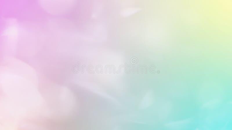 Pendiente del color en colores pastel, fondo suave del color foto de archivo libre de regalías