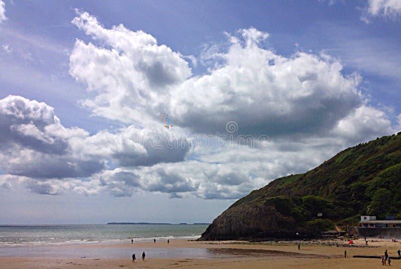 Pendine Coast royalty free stock photography