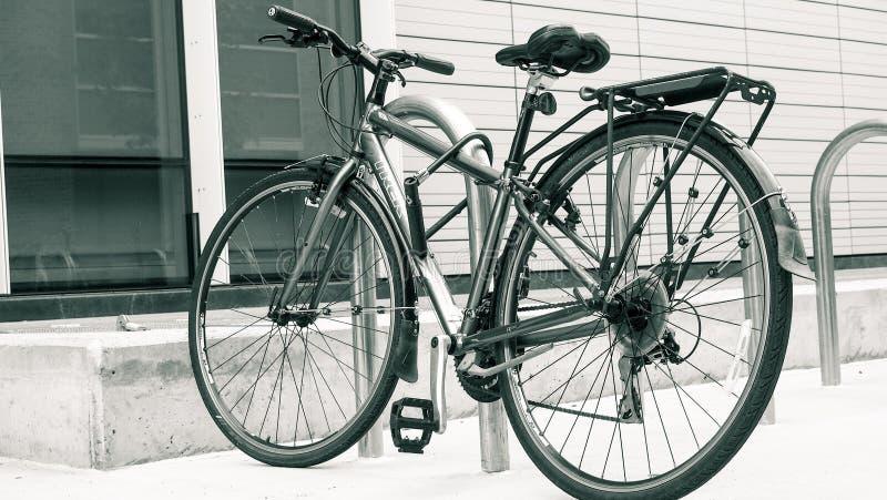 Pendler-Fahrrad lizenzfreies stockfoto