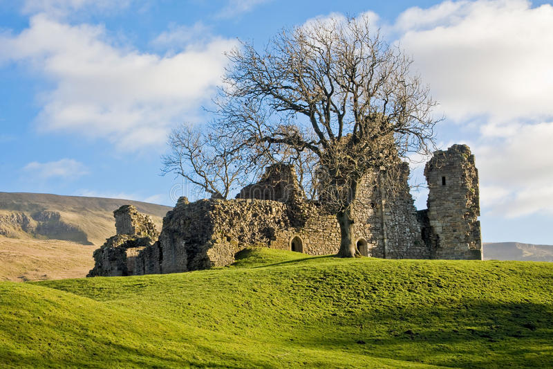 Pendragon Castle stock photography