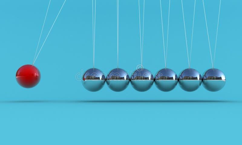 Download The pendulum stock illustration. Illustration of inertia - 21778060