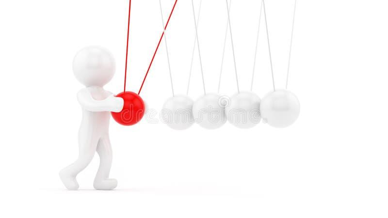 Download Pendulum stock illustration. Image of symbol, play, pendulum - 26384851