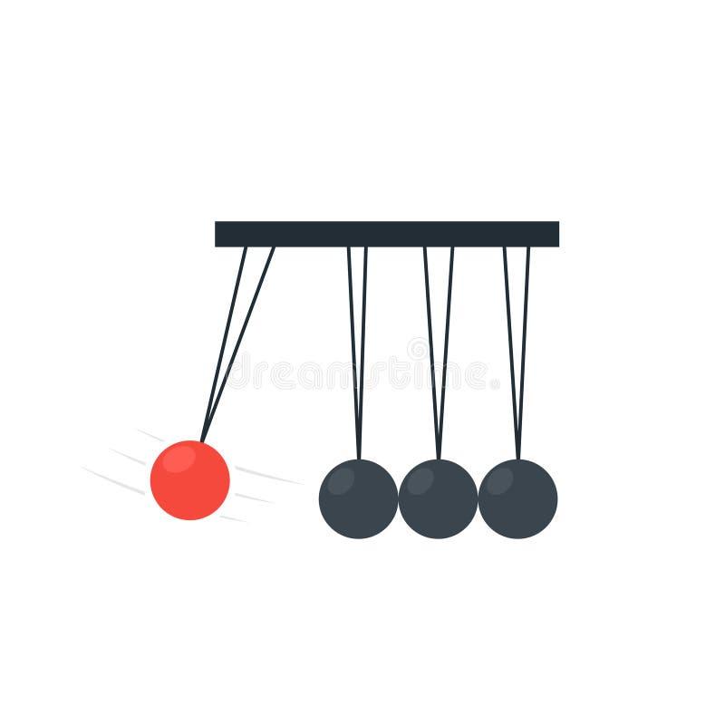Pendulum Ball icon royalty free illustration