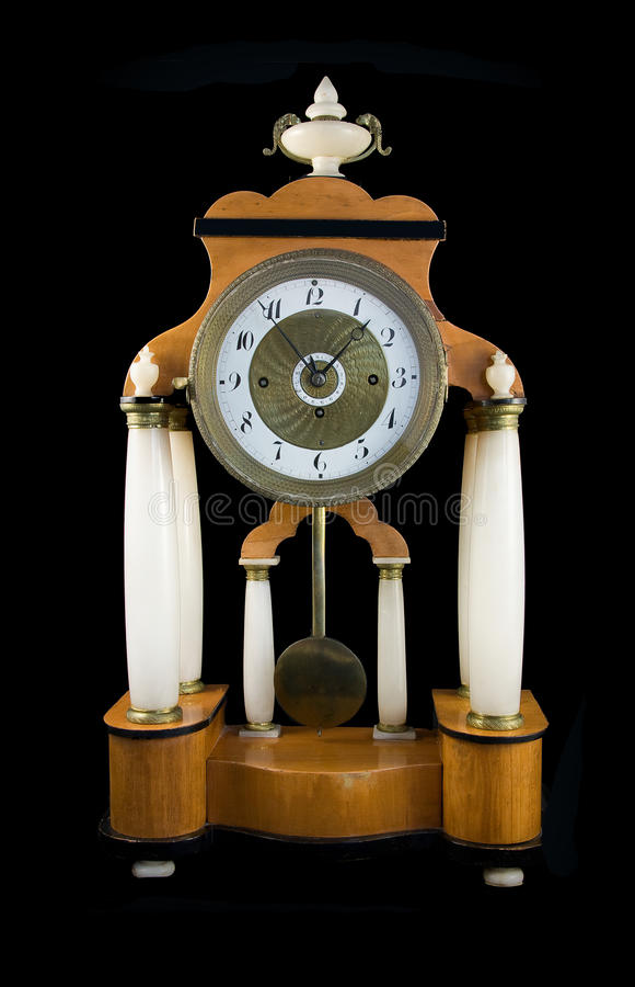 Pendulum Clock Stock Photo