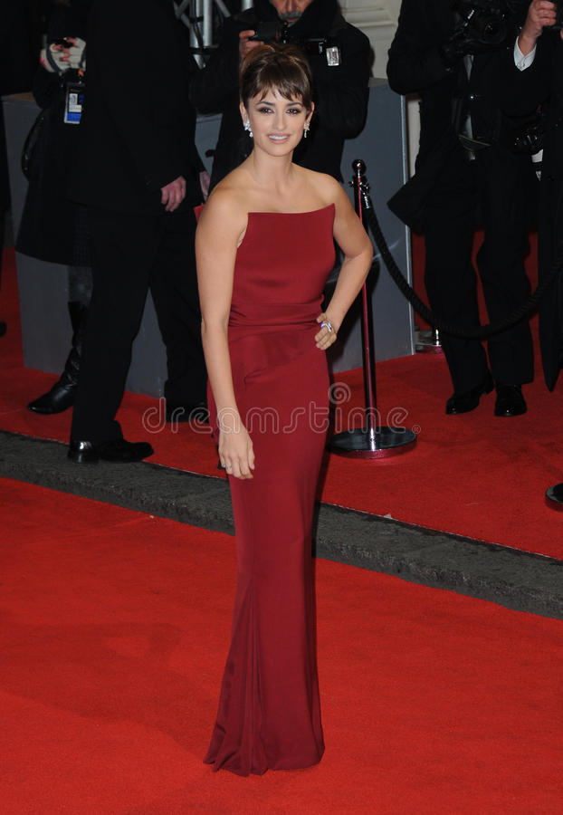 Penelope Cruz. Attends the Orange British Academy Film Awards 2012 at the Royal Opera House. February 12, 2012, London, UK Picture: Catchlight Media / stock images