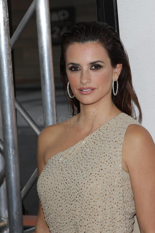 Penelope Cruz stock image