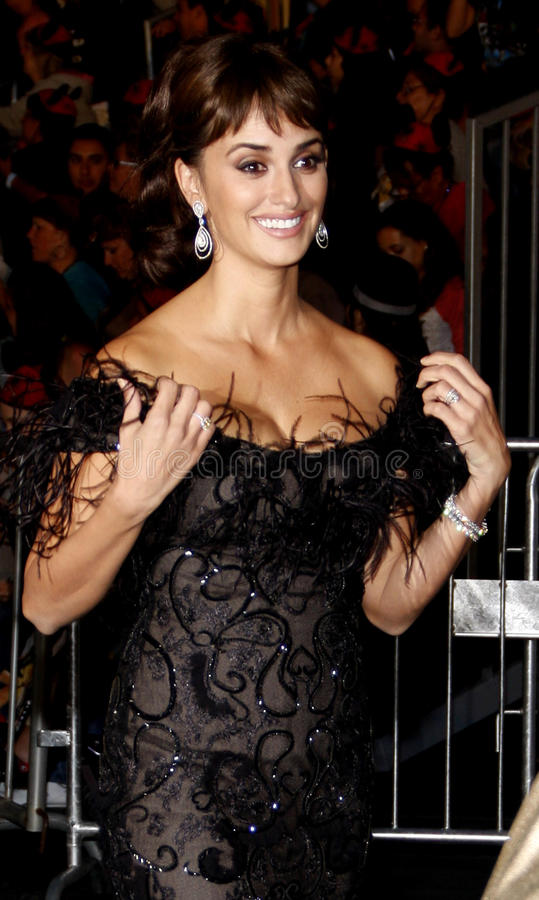 Penelope Cruz royaltyfria foton