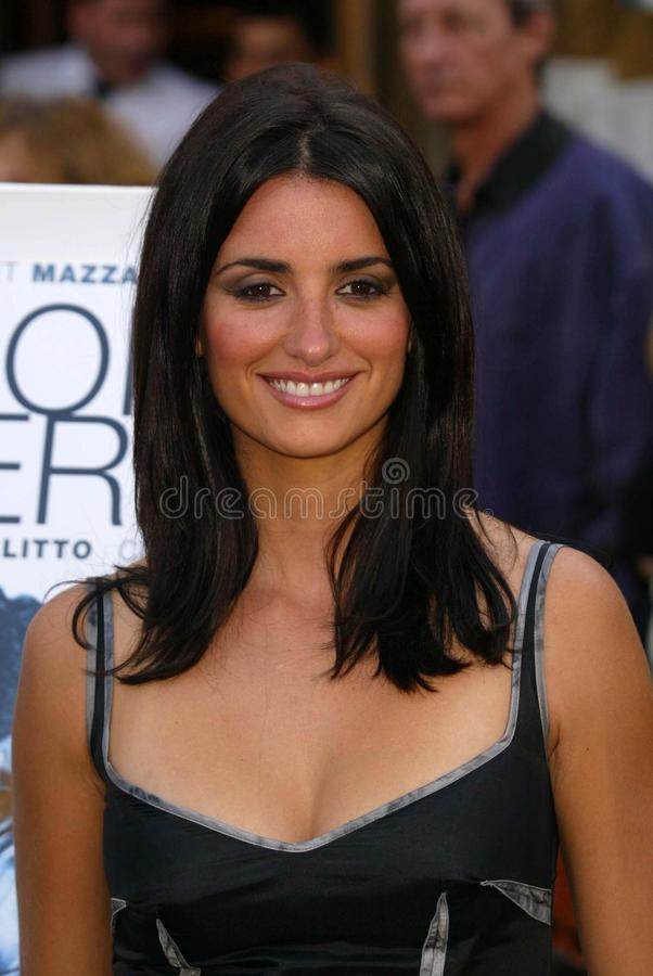 Penelope Cruz stock images