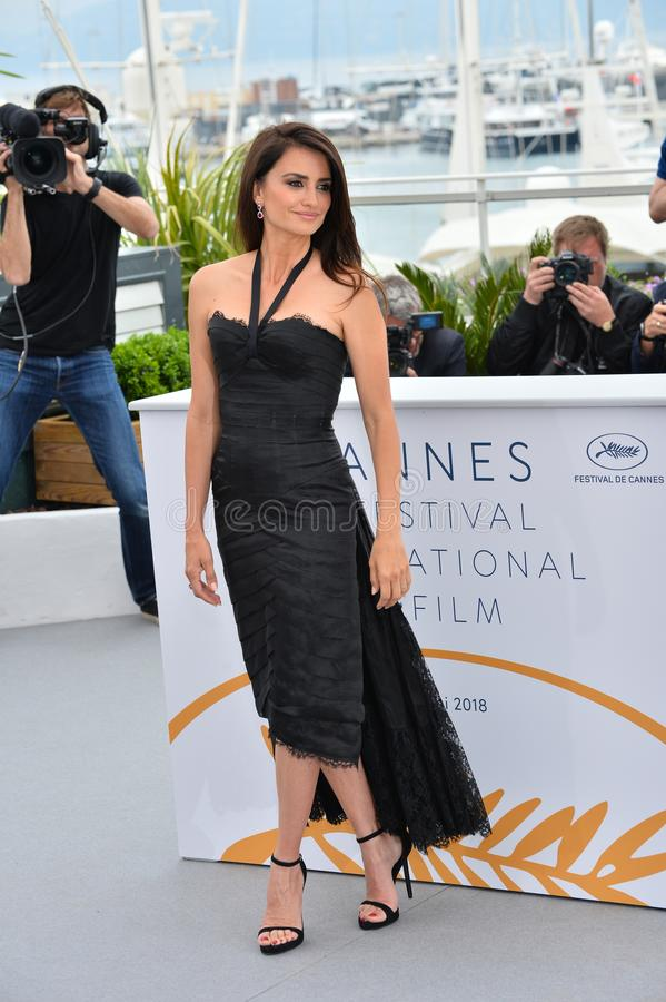 Penelope Cruz. CANNES, FRANCE. May 09, 2018: Penelope Cruz at the photocall for Everybody Knows at the 71st Festival de Cannes..© 2018 Paul Smith/Featureflash royalty free stock photo