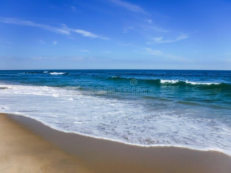 Penetre el mar imágenes de archivo libres de regalías