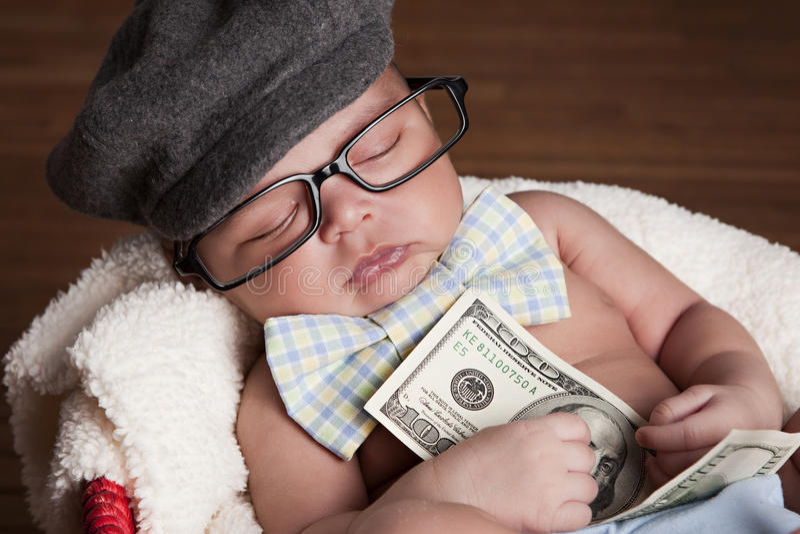 Pengar! arkivbilder