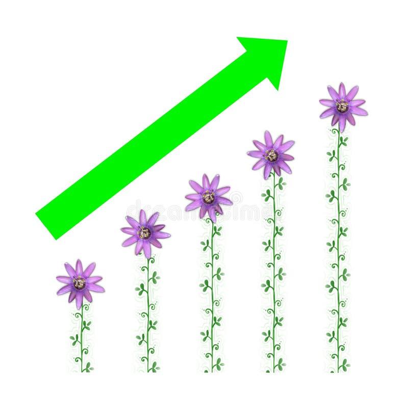 pengar för jobb för industri för affärsekonomi gående gröna royaltyfri illustrationer