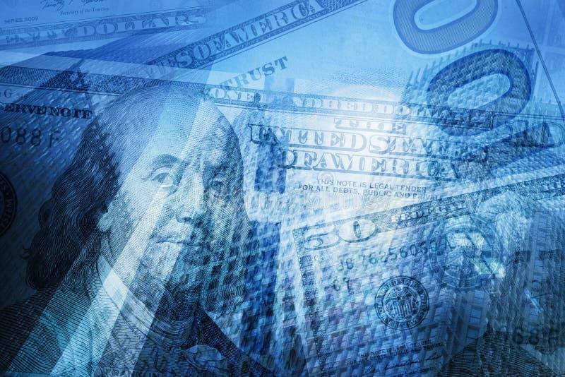 Pengar finans, abstrakt bakgrund för affärsidé royaltyfri bild