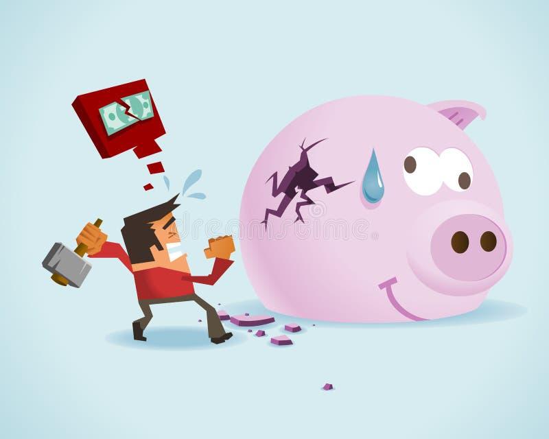 pengarnr. vektor illustrationer
