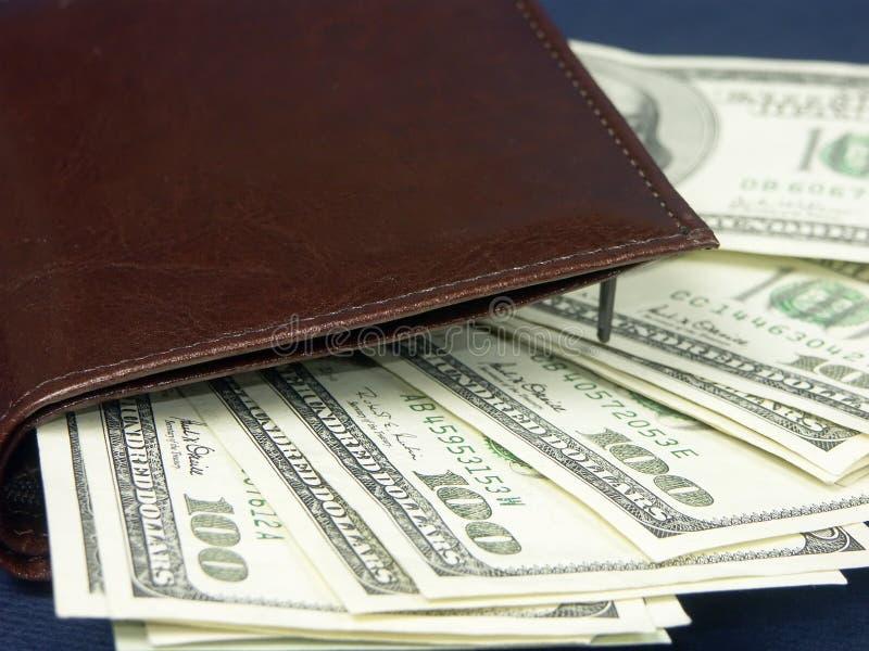 pengarstapel arkivfoton