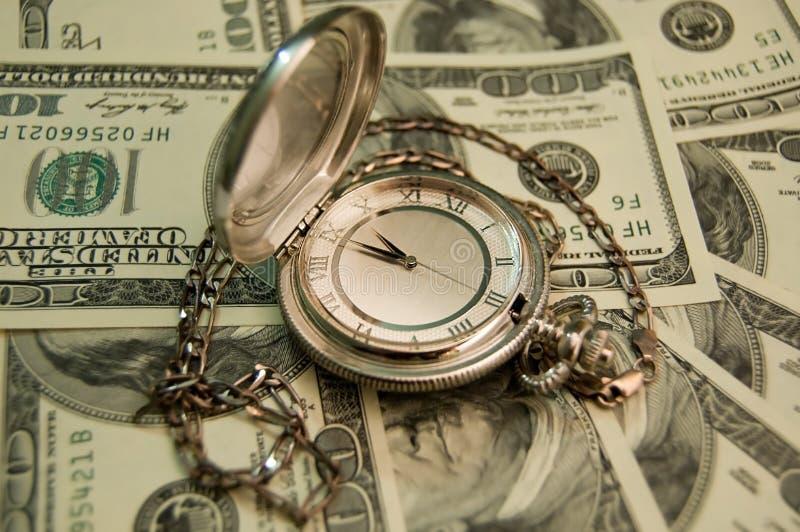 pengartid arkivbilder