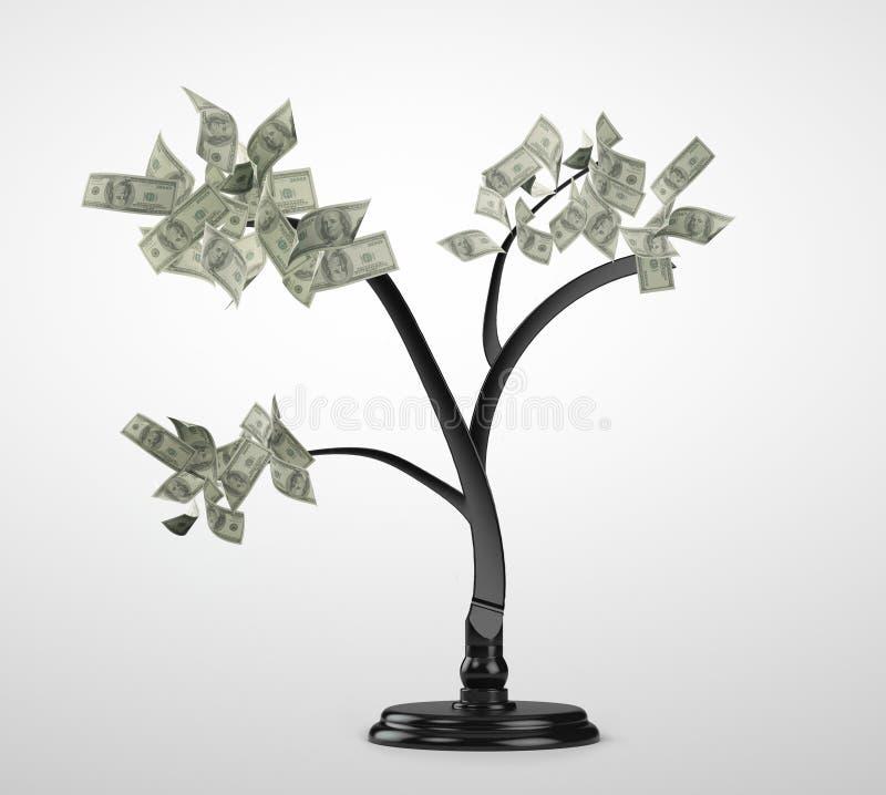 Pengarträd royaltyfria bilder