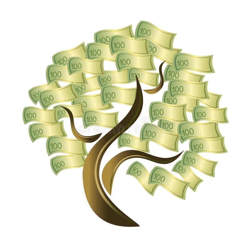 pengartree royaltyfri illustrationer
