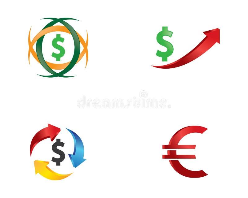 Pengarvektorsymbol vektor illustrationer