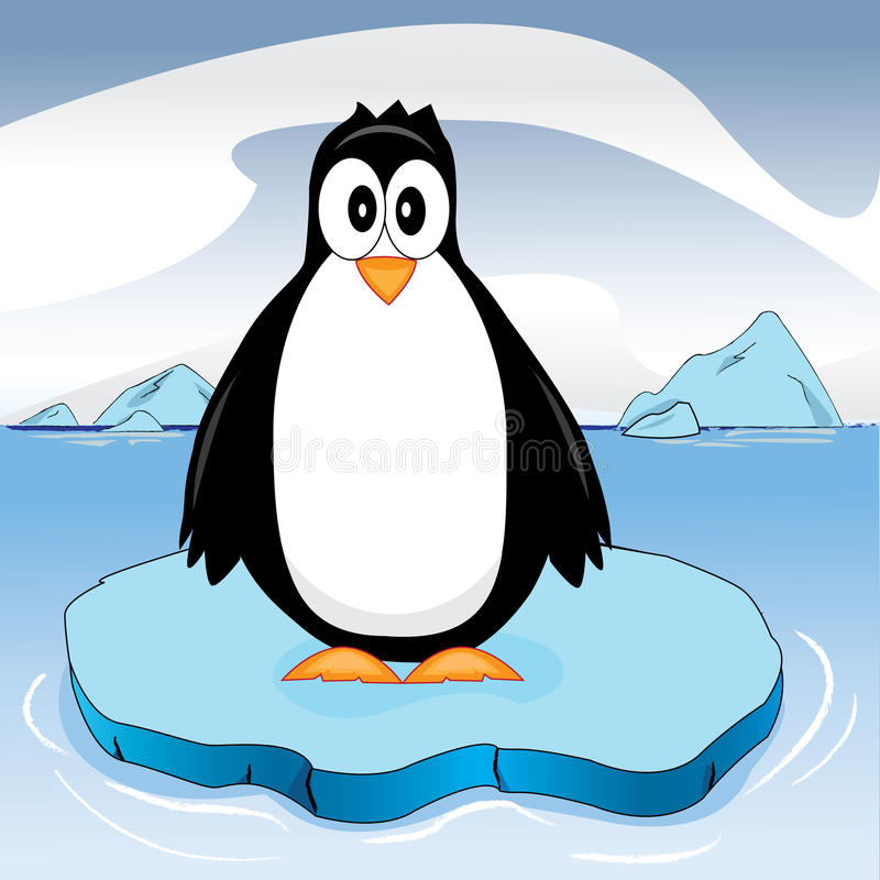 Download Penguin stock vector. Image of bird, standing, water - 21873196