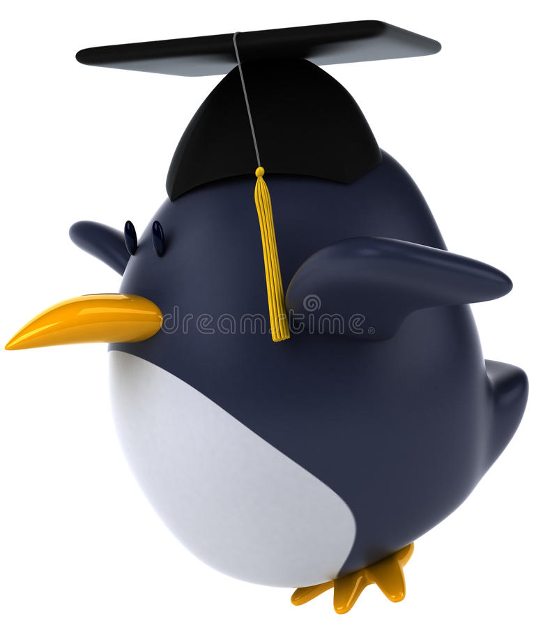 Download Penguin stock illustration. Image of isolated, reserve - 25148973