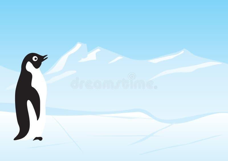 Download Penguin stock vector. Image of season, penguin, cold, blue - 6434100