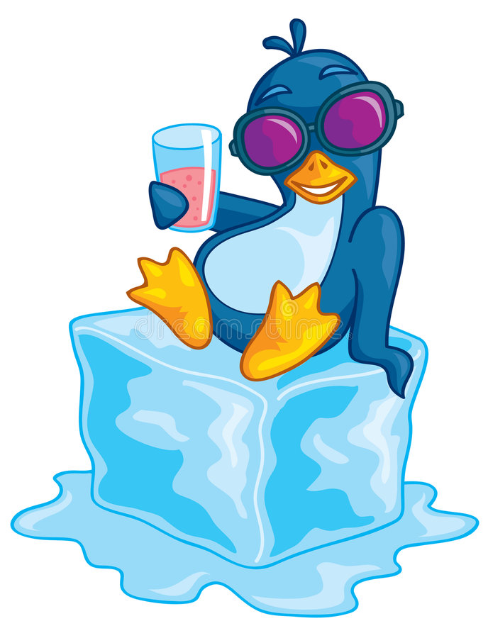 Download Penguin On Ice Stock Images - Image: 9102824