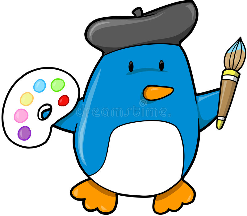Download Penguin Vector Illustration Stock Photo - Image: 6373860