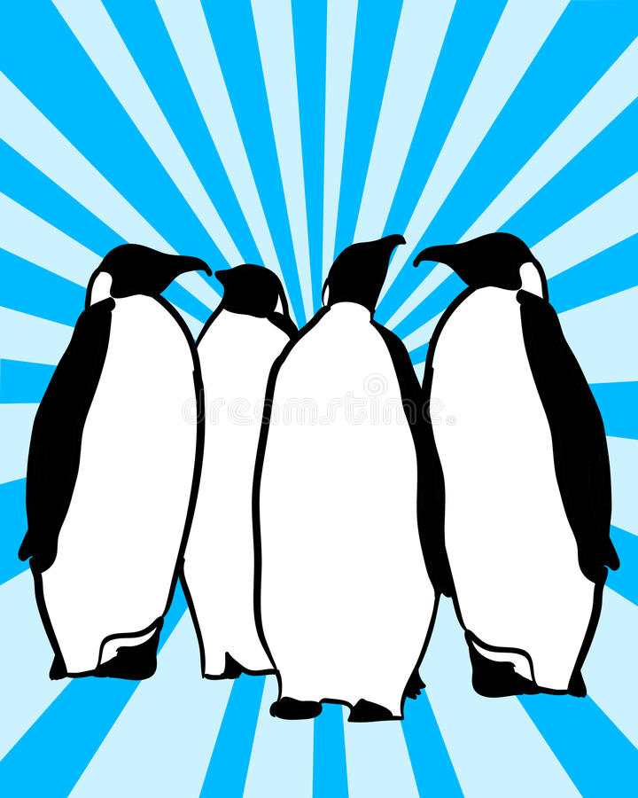 Free Penguins Royalty Free Stock Photography - 19271057