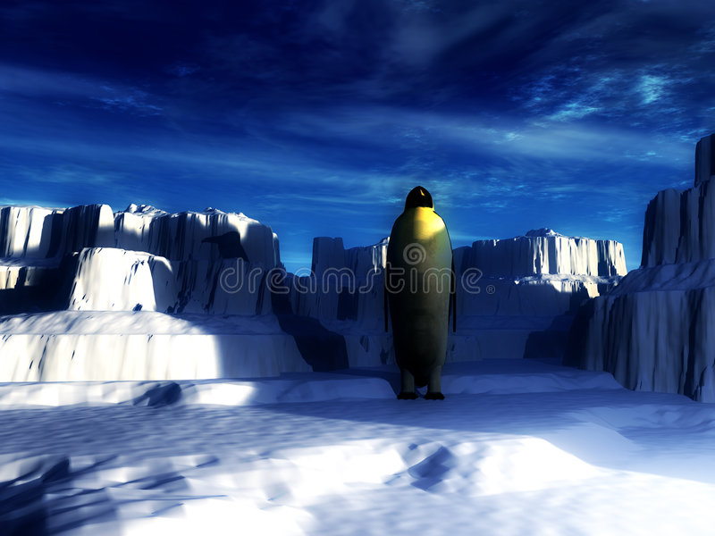 Download Penguins stock photo. Image of atmosphere, iceberg, colour - 779388