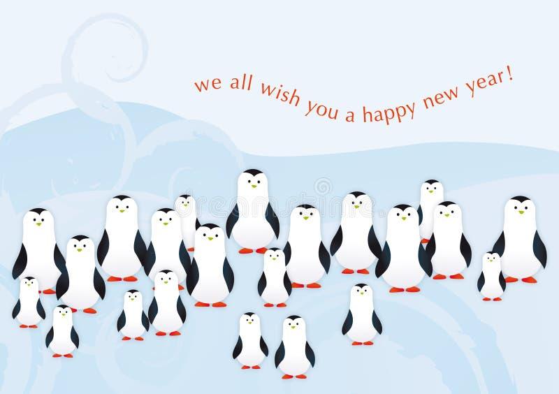 Penguins.indd lizenzfreie stockfotografie