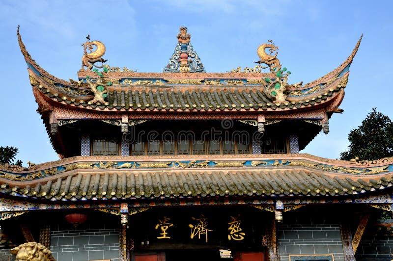 Download Pengzhou, China:  Ci Ji Buddhist Temple Royalty Free Stock Photos - Image: 11631388